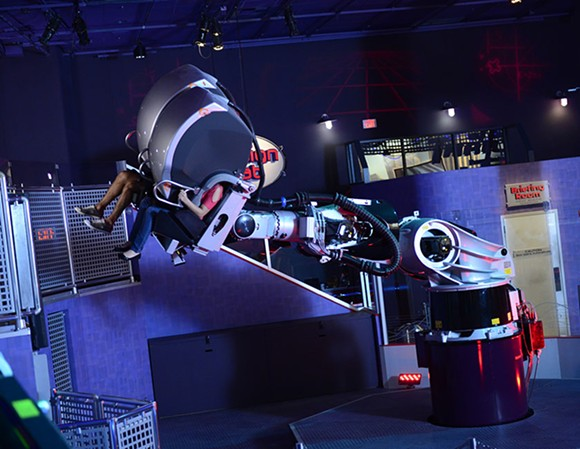 Sum of All Thrills at Epcot in Innoventions East. - PHOTO VIA DISNEY