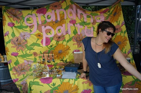 Jenna Caring, current Grandma Party Bazaar organizer - PHOTO BY MICHAEL LOTHROP