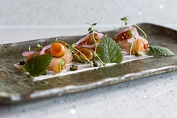 Perfectly plated at Seito Sushi. - ROB BARTLETT