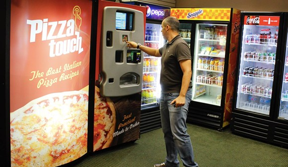 This is one of the Orlando Pizza Touch machines, located at 7400 Canada Ave. - PHOTO VIA PIZZA TOUCH ON FACEBOOK