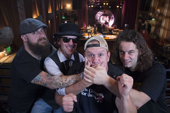 Cowboy Mouth - IMAGE VIA COWBOY MOUTH/FACEBOOK