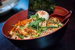 Shoyu ramen at Baoery Asian Gastropub. - ROB BARTLETT