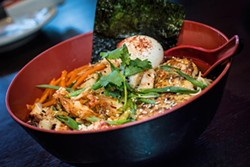 Shoyu ramen at Baoery Asian Gastropub. - ROB BARTLETT