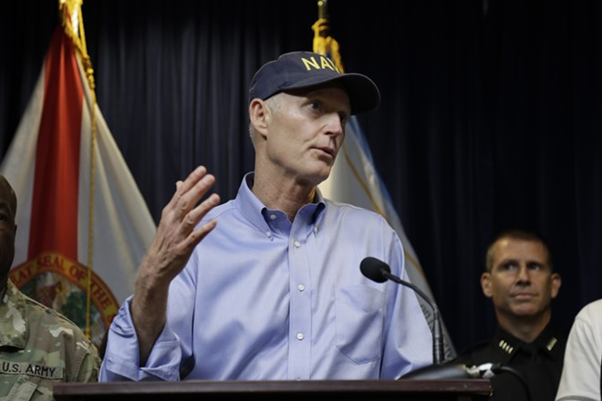 """Right!"" – Rick Scott, presumably - PHOTO BY JOEY ROULETTE"