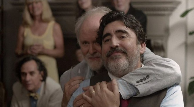 STILL FROM 'LOVE IS STRANGE' COURTESY GLOBAL PEACE FILM FESTIVAL