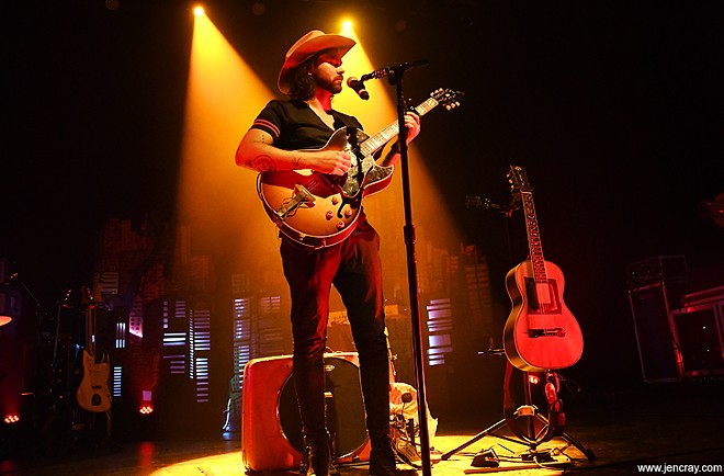 Shakey Graves at the Plaza Live - JEN CRAY