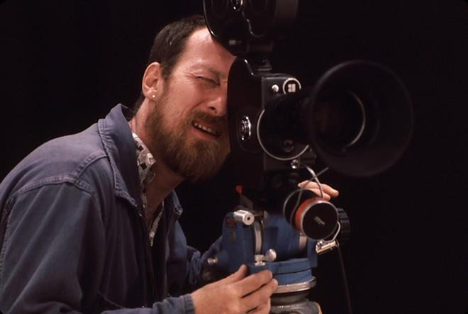 Wakefield Poole on the set of Bijou, 1971/1972. - PHOTO COURTESY OF JIM TUSHINSKI