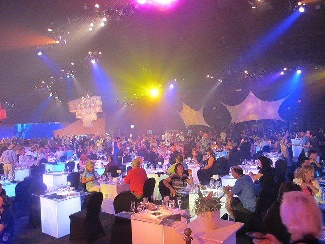 Bon vivants gather to celebrate at the Party for the Senses