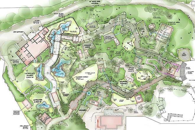 The Brevard Zoo's new Rainforest Revealed area - IMAGE VIA BREVARD ZOO