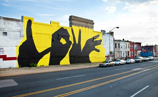 PHOTO VIA BALTIMORE LOVE PROJECT