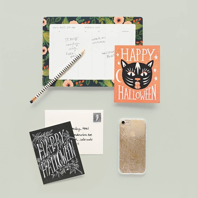 Various Rifle Paper Co. goods. - IMAGE VIA RIFLE PAPER CO. ON FACEBOOK