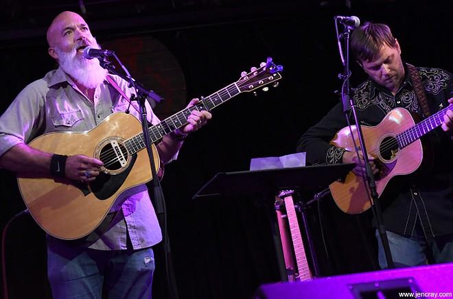Joshua Reilly and Patrick Hagerman at Will's Pub - JEN CRAY