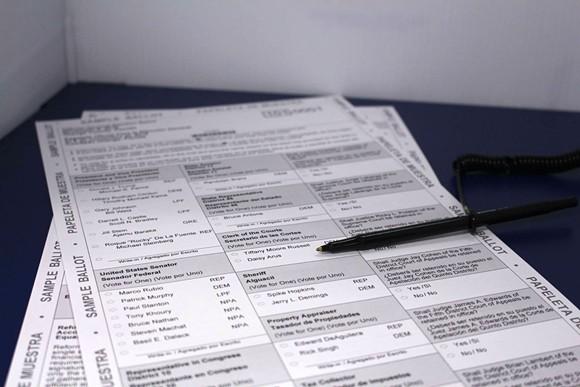 PHOTO VIA ORANGE COUNTY SUPERVISOR OF ELECTIONS OFFICE