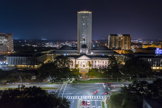 FLORIDA STATE CAPITOL BUILDING IN TALLAHASSEE, ADOBE PHOTOS