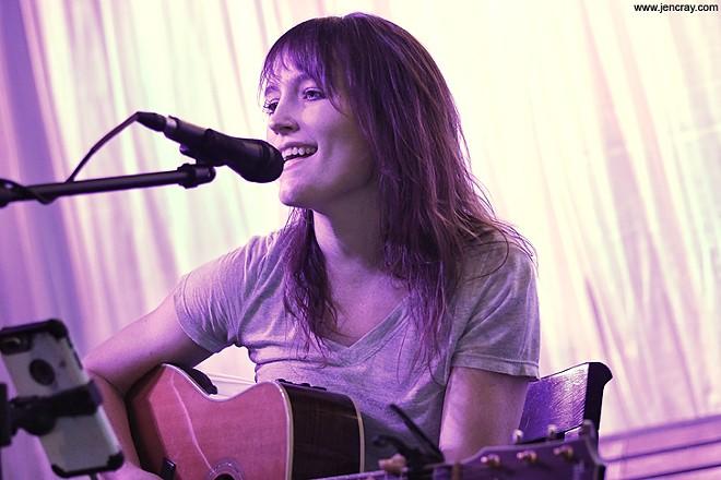 Hannah Harber at Dexter's Winter Park - JEN CRAY