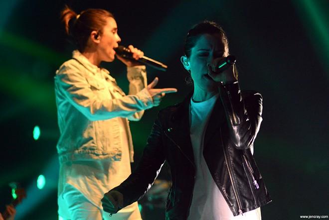 Tegan and Sara at the Beacham - JEN CRAY
