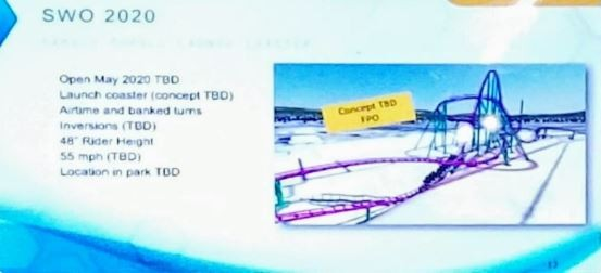 One of the leaked images that was part of a larger leak of SeaWorld plans. The company later confirmed the leaks were authentic. - PHOTO VIA AMUSEMENTLEAKS/TWITTER