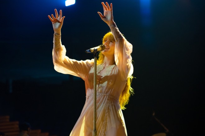 Florence Welch at Amway Center, Orlando, Saturday, June 8, 2019 - PHOTO BY PHIL DESIMONE