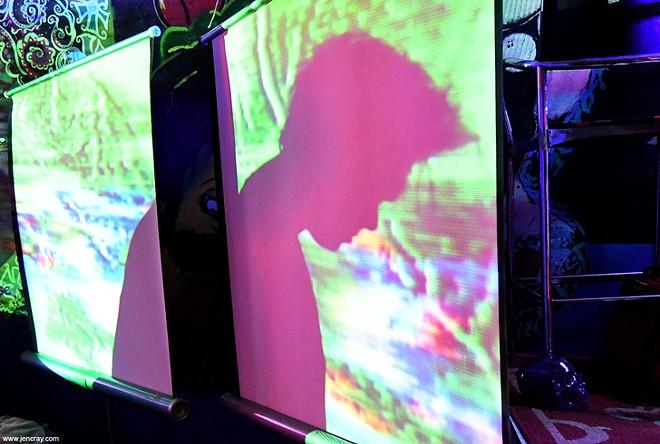 Byson at Illuminated Paths showcase (Uncle Lou's) - JEN CRAY