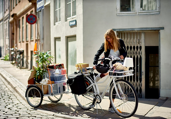 The IKEA bike and accessories, known as SLADDA, goes on sale in February. - IMAGE COURTESY IKEA USA