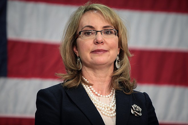 Former Congresswoman Gabrielle Giffords - PHOTO BY GAGE SKIDMORE