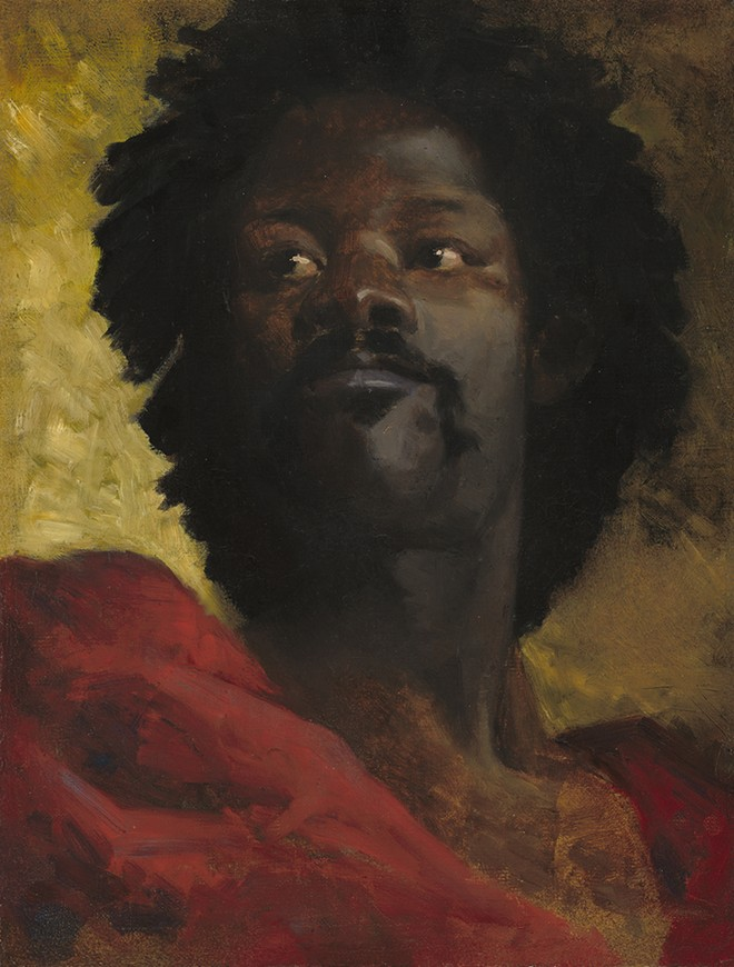 """""""Head of a Moor,"""" 1870 - 