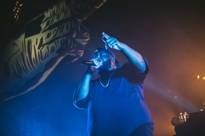 Run the Jewels at the Beacham - CHRIS GAOR