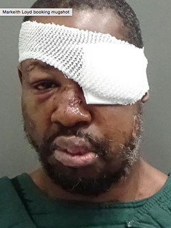 Markeith Loyd, above. - PHOTO VIA ORANGE COUNTY JAIL