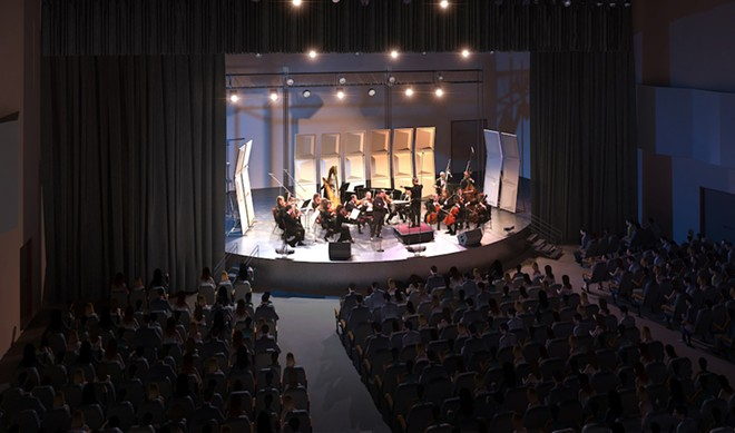 The Orlando Phil - IMAGE OF PLAZA LIVE STAGE VIA ORLANDO PHILHARMONIC