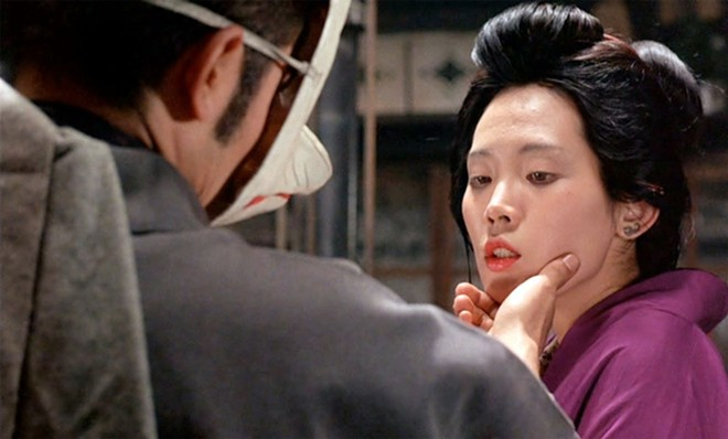 Tatsuya Fuji and Eiko Matsuda in In the Realm of the Senses - IMAGE COURTESY OF THE CRITERION COLLECTION
