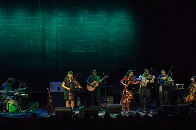 Sara Watkins with the Orlando Philharmonic at the Plaza Live - MIKE DUNN