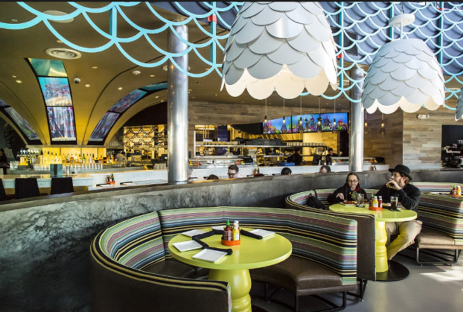 The Cowfish at CityWalk is the definition of whimsical. - ROB BARTLETT