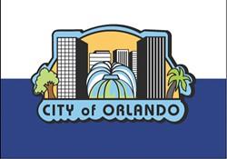 The current flag for the City of Orlando - PHOTO VIA CITY OF ORLANDO