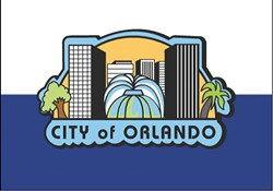 The current flag for the City of Orlando - PHOTO VIA CITY OF ORLANDO