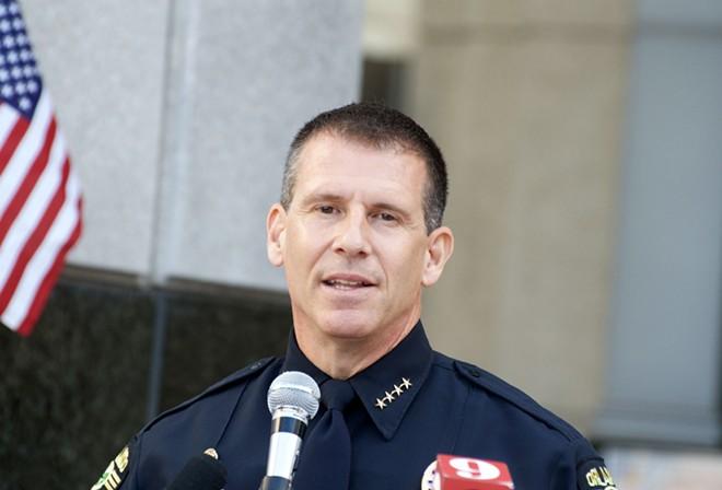 Sheriff John Mina - PHOTO BY MONIVETTE CORDEIRO