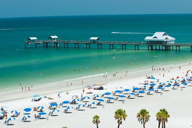 PHOTO VIA CLEARWATER BEACH FLORIDA/FACEBOOK