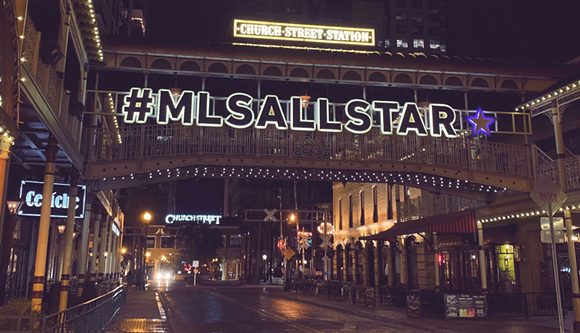 Church Street is ready for the big game. - PHOTO VIA ORLANDO CITY SC/TWITTER