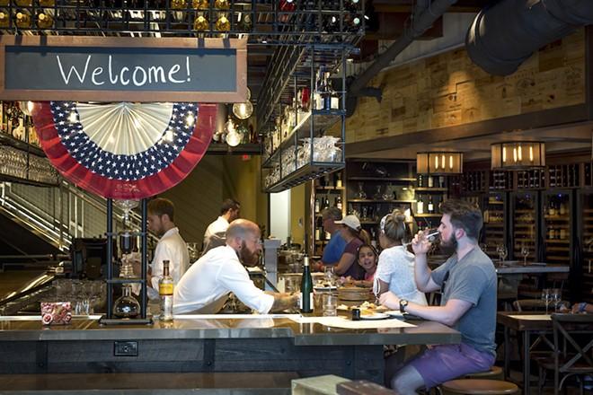 Wine bar George - PHOTO BY ROB BARTLETT
