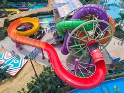 The Slidewheel spinning water slide, another design by Wiegand.waterrides GmbH - IMAGE VIA WIEGAND.WATERRIDES/YOUTUBE