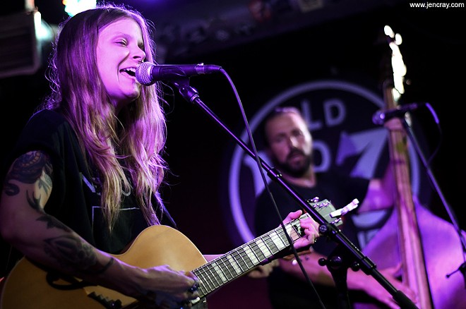 Sarah Shook & the Disarmers at Will's Pub - JEN CRAY