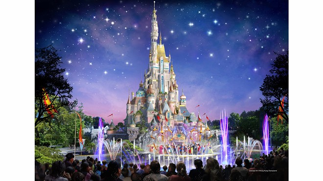 Hong Kong Disneyland's reimagined castle - IMAGE VIA DISNEY PARKS BLOG