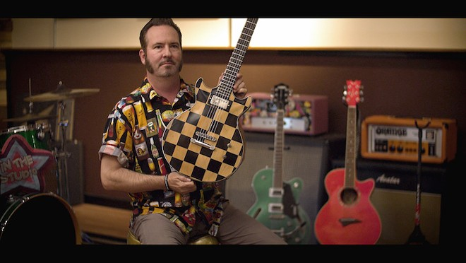 Aaron Barrett (Reel Big Fish) in Pick It Up! Ska in the '90s - PHOTO COURTESY OF POPMOTION PICTURES