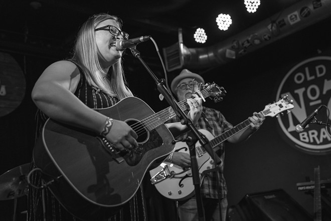 Amy Robbins at Will's Pub - MIKE DUNN