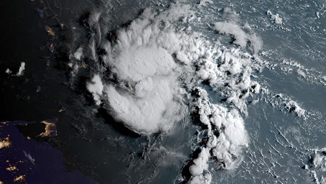 SATELLITE IMAGE VIA NOAA
