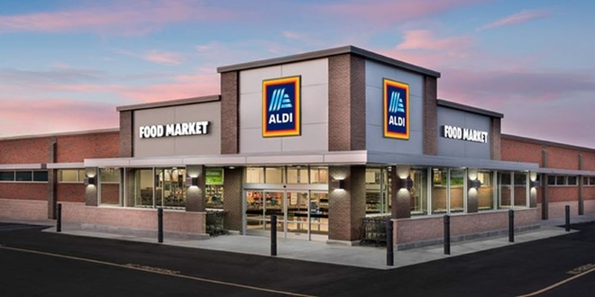 ALDI plans to expand its store count to 2,500 by the end of 2022. - PHOTO VIA ALDI / UX DESIGN
