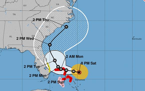 IMAGE VIA NOAA, AUG. 31, 8:00 P.M.