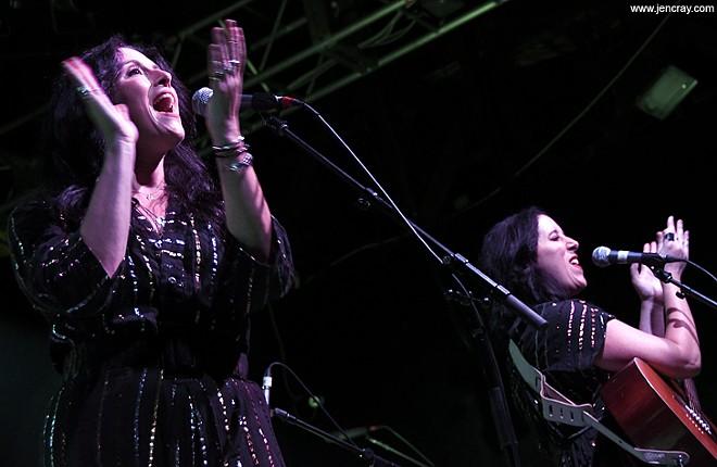 The Watson Twins at the Beacham - JEN CRAY