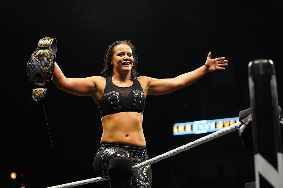 NXT Women's Champion Shayna Baszler - PHOTO COURTESY WWE NXT AND FULL SAIL UNIVERSITY