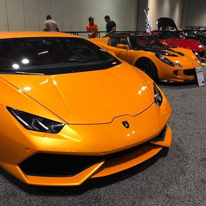 PHOTO VIA CENTRAL FLORIDA INTERNATIONAL AUTO SHOW/INSTAGRAM