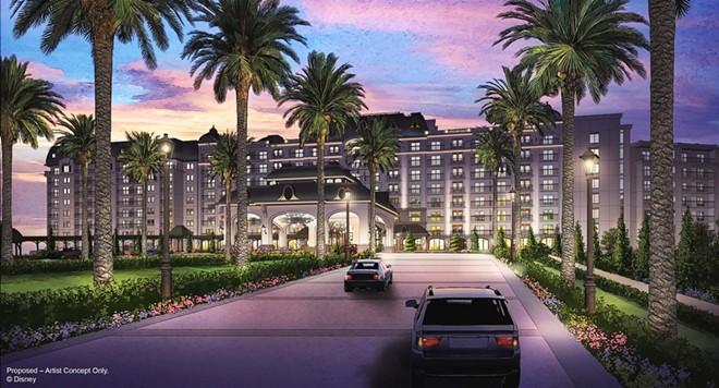 The new Riviera DVC resort at WDW - IMAGE VIA DISNEY
